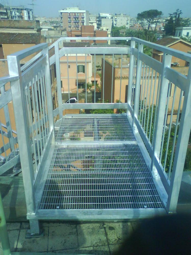Realizzazione scale di sicurezza in ferro scale - Scale di ferro ...