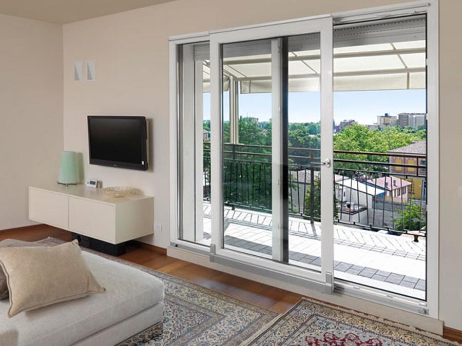 Finestre in alluminio Roma - Produzione e installazione verande Roma, verande in alluminio Roma ...